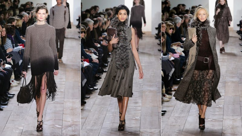 Michael Kors: If You Like Slouchy Sweaters, Meh Colors and Lots of Fur
