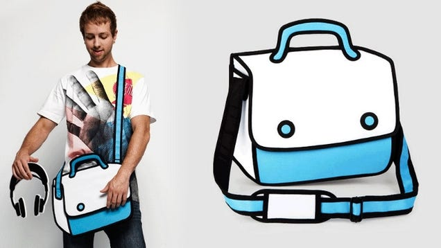 This Bag Will Make You Feel Like You Live In a Cartoon