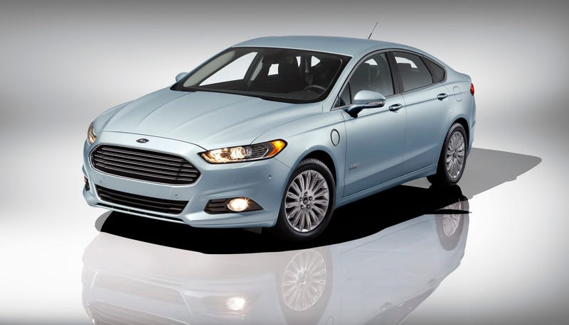 2013 Ford Fusion Energi First Photos