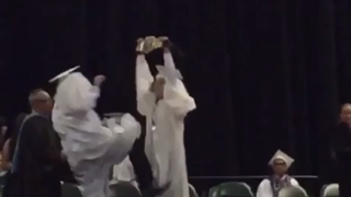 Miami Grad Receives Stone Cold Stunner At Commencement
