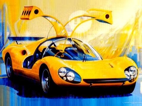 The Design Story of Dino: Berlinetta Prototipo Competizione