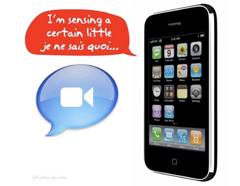 Patent Shows Apple Researching Advanced iPhone Sensor Use, iChat Integration
