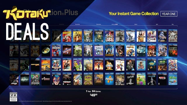 Playstation Plus For $35, And A Discount On LIVE