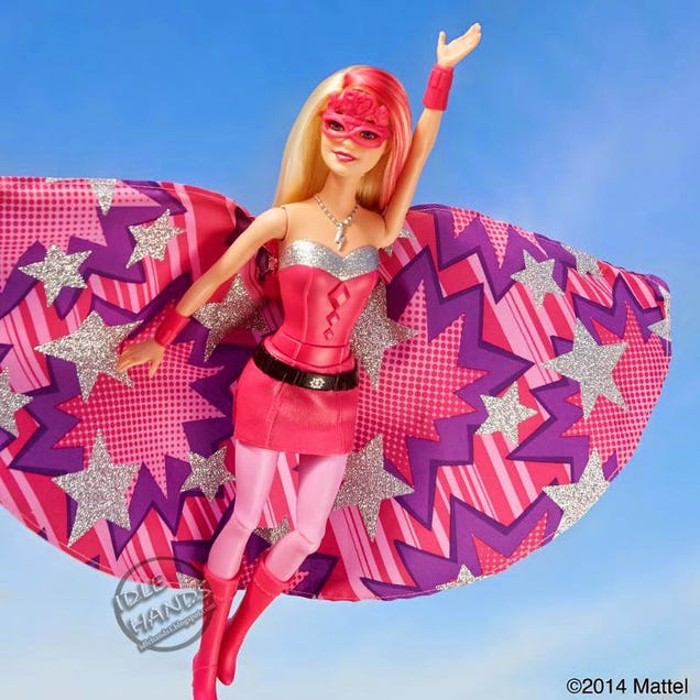 Soooo Barbie Is A Superhero Now