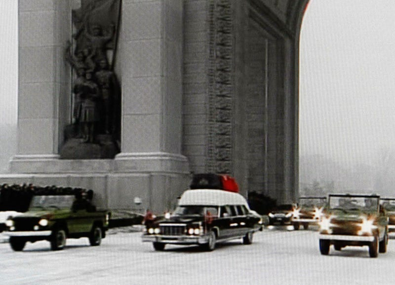 Watch Kim Jong-il's Can't-Look-Away Bizarre Funeral