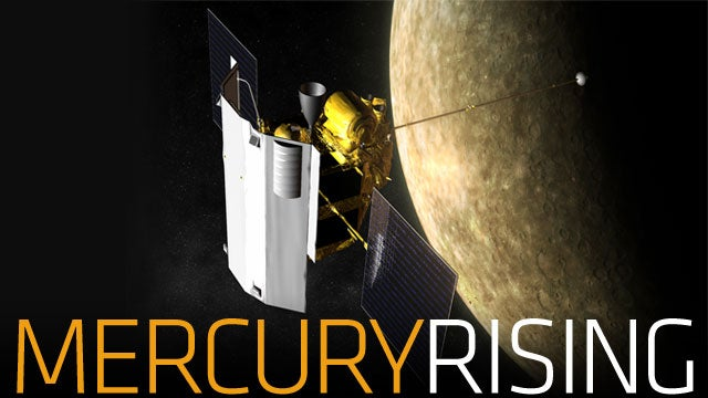 Mercury Didn't Have A Satellite, So We Gave It One
