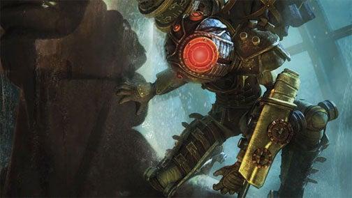 Spoiler Alert! How Big Daddies Appear In BioShock 2