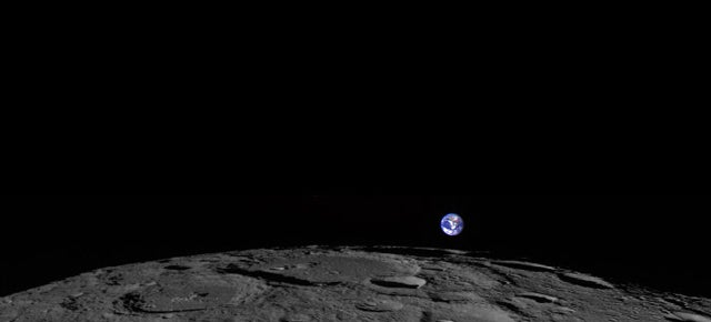 The Moon Might Be Littered With Fossils From Ancient Earth
