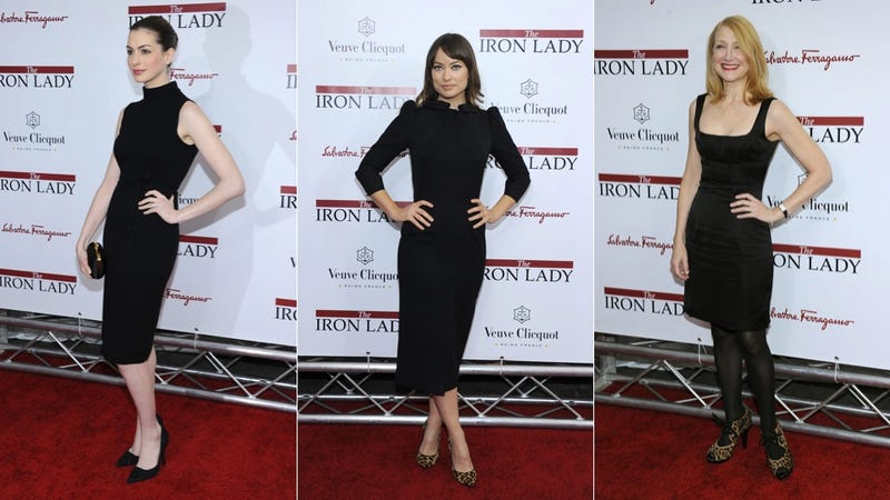 Stars Looked Dour At Iron Lady Premiere