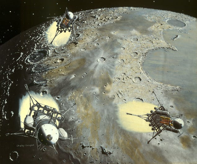 Colliers moon landing