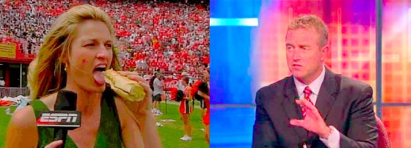 The One Where Erin Andrews And Kirk Herbstreit Rumors Resurface