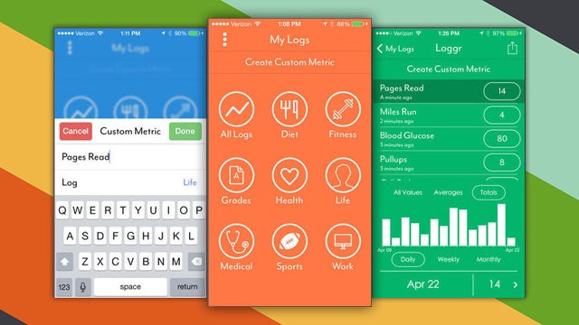 Loggr Lets You Roll Your Own Health, Fitness, or Habit Tracker