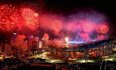 Beijing Olympics Fireworks Line Will Light Up China This Spring Festival