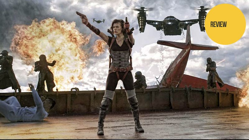 Resident Evil: Retribution: The Kotaku Movie Review