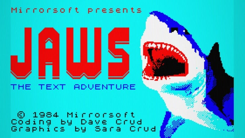 A New Jaws Game With A Text Adventure Twist