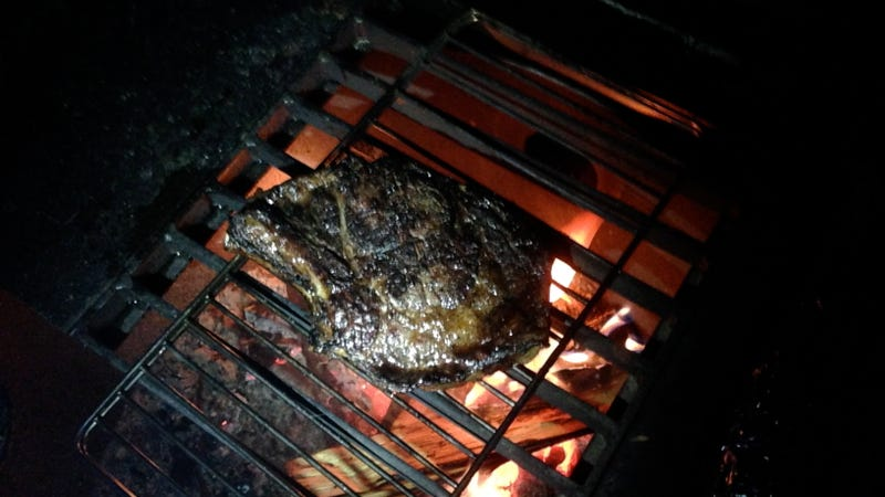 How To Cook A Steak Over A Campfire