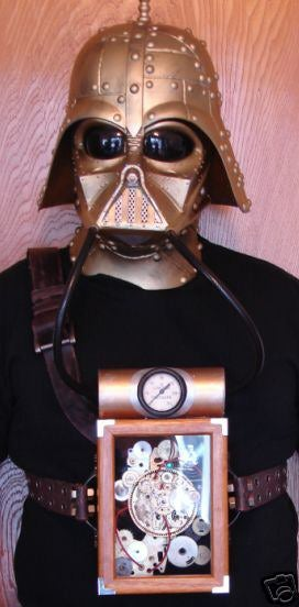 Steampunk Vader Mask Makes Me Look Like Darth Kaiser