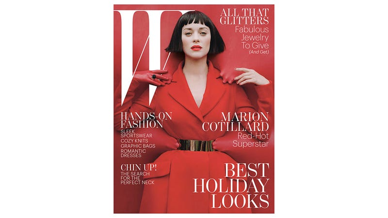Marion Cotillard, A Life-Sized Toy Soldier, And A Lot of Red Latex Star In The Dreamy New W