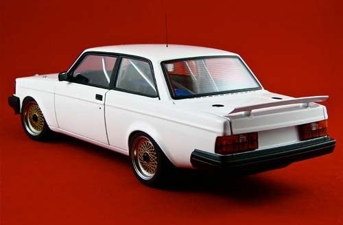 Diecast Toy Car Of The Day: Volvo 240 Coupe!