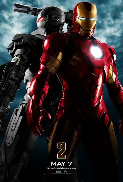 First Iron Man 2 Poster: Ker-Boom