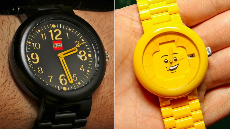 There's Finally Going to Be a Lego Watch Collection For Adults