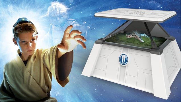 Kids Can Control Holograms With Their Minds Using the Force Trainer II