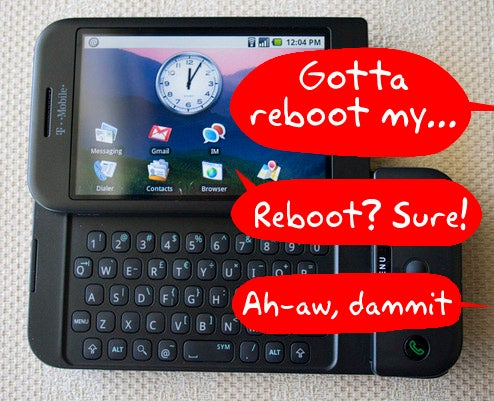 "Android Bug Reboots Phone Every Time You Type ""Reboot"""