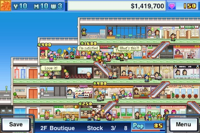 Mega Mall Story Lets You Be the King of Mallrats
