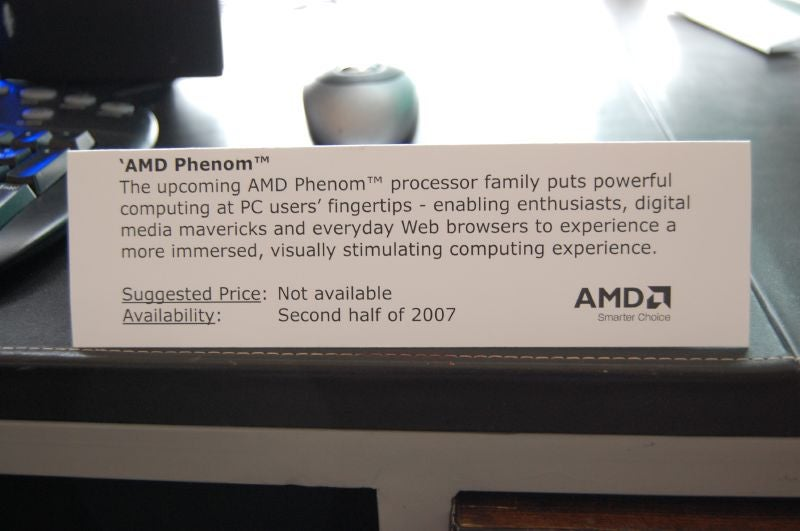 AMD Quad Core Phenom Gaming System in the Flesh (and Blood)