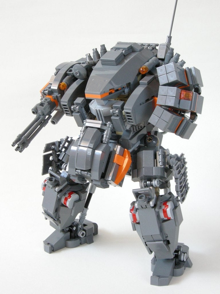 The Incredible World of Giant LEGO Mechs
