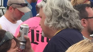 Rob Ryan, Stacking Brewskies At A Pitbull Concert
