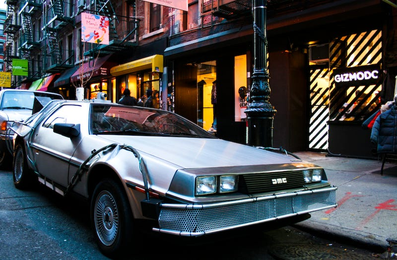 Gizmodo Gallery Delorean Gets Lots Of Umm...Looks