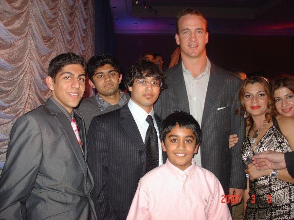 Peyton Manning's Sweet 16 Party Cameo