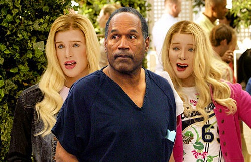 O.J. Simpson's Prison Friends Are Gays and Trannies