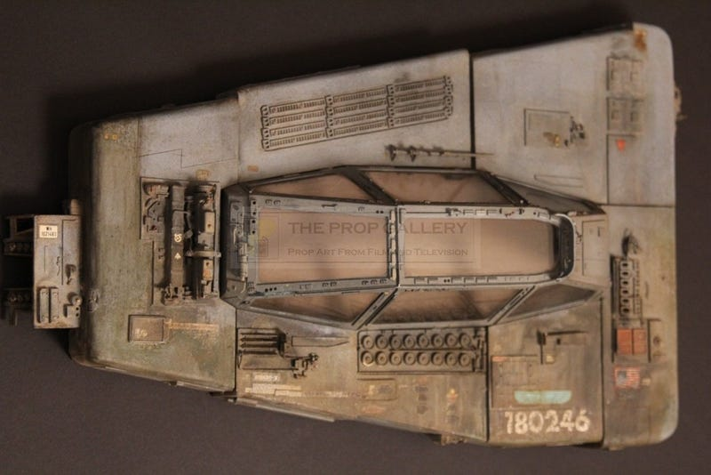 The level of detail in this Nostromo model component is INSANE