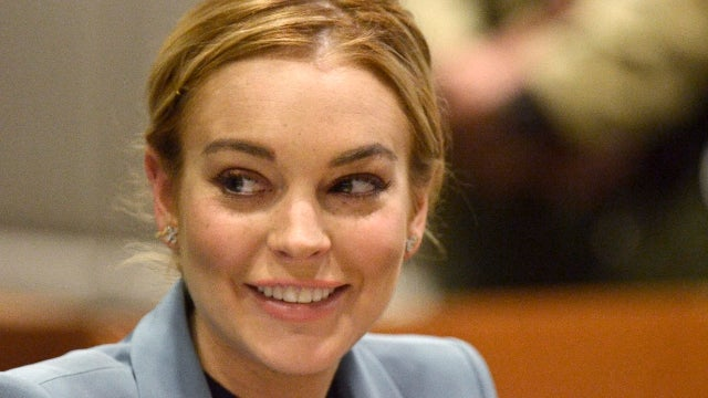 Lindsay Lohan Arrested for Hitting Some Guy with Her Porsche