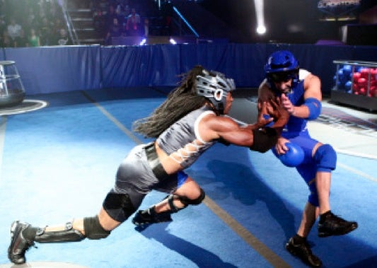 "Posthuman Mutants Penalized for Evolving on ""American Gladiators"""
