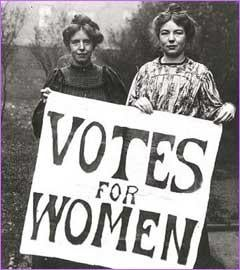 The Female Vote: It Was 89 Years Ago Today