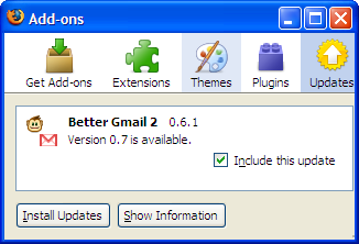 Better Gmail 2 Gets LabelLinks4Gmail Plus Updates