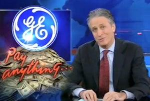 Jon Stewart Criticizes GE, Obama Over Tax Issues