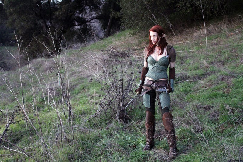 First Look at Felicia Day as an Elven Assassin in DragonAge Webseries
