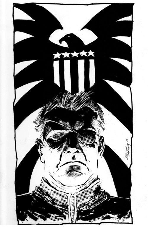 The many faces of Nick Fury, Agent of S.U.A.V.E.