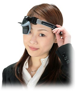 DataGlass Head-Mounted Display Built For Rough Weather