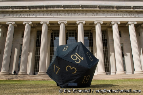 MIT Students Create Giant 20-Sided Die In Honor of Gary Gygax
