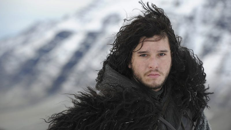 Kit Harington Is Not Allowed to Cut His Silky Jon Snow Locks
