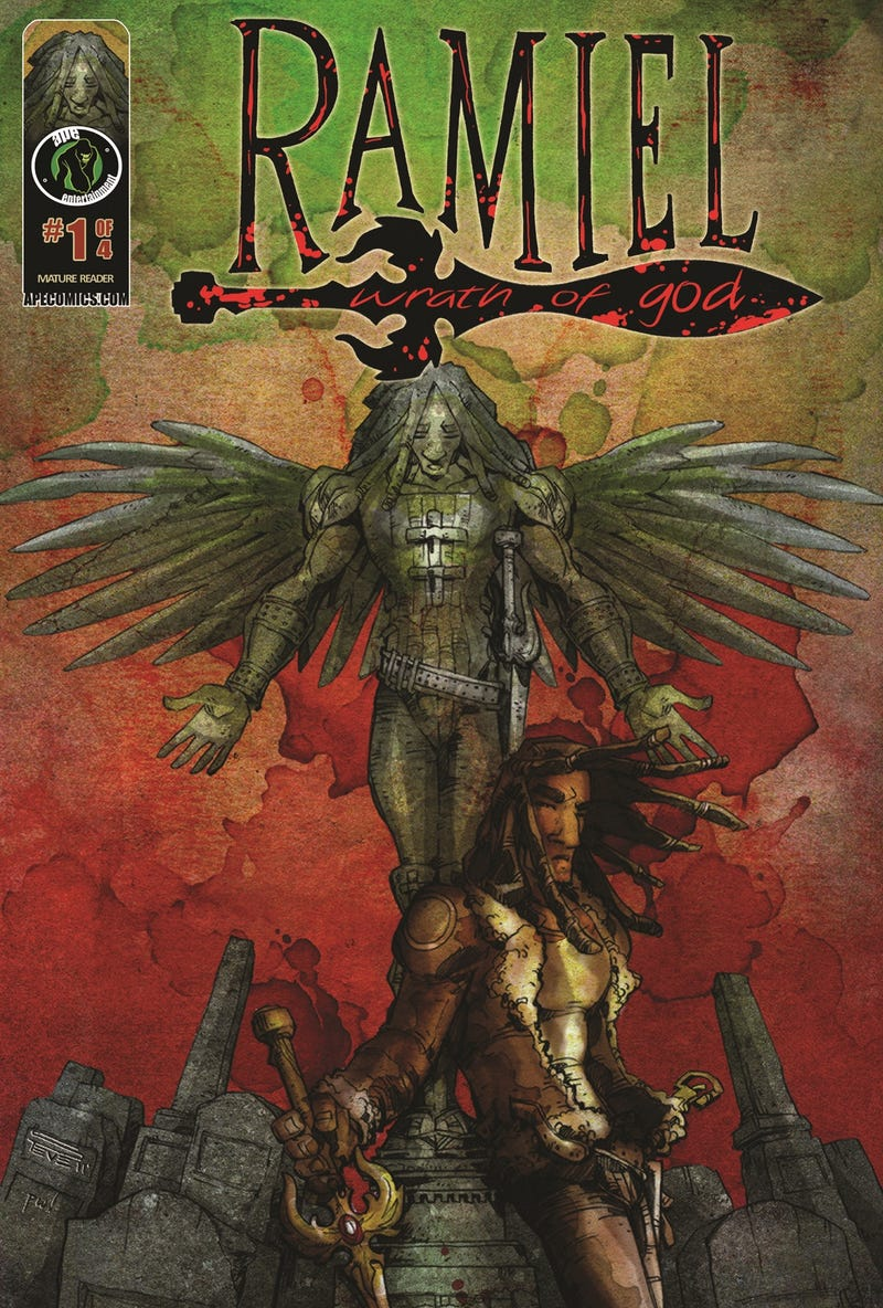 A warrior angel has a hard time picking his battles, in Javier Grillo-Marxuach's Ramiel