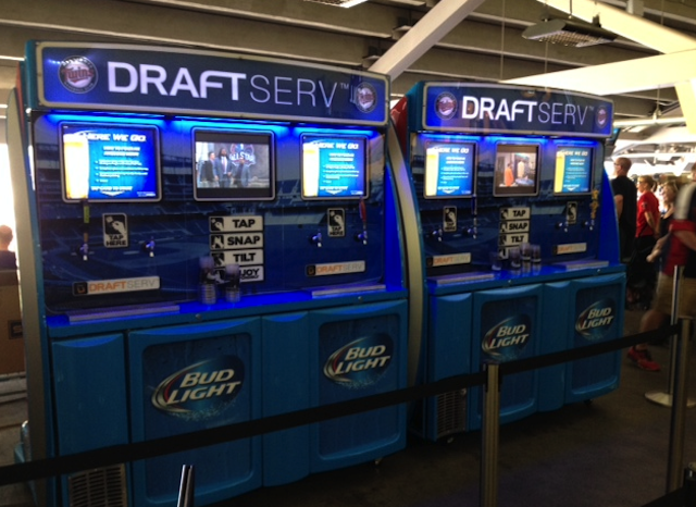 Target Field Now Has Self-Serve Beer Machines