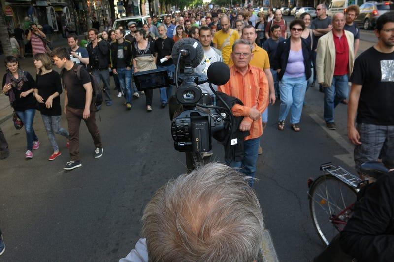 Így nem találkozott Orbán Viktorral az Origo-tüntetés