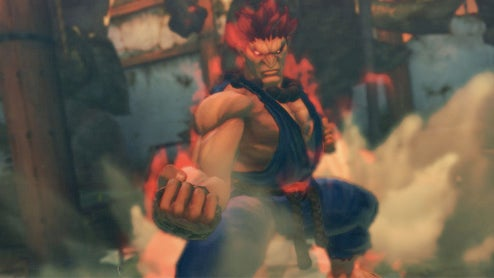 Akuma Is Here To Whop Your Street Fighter IV Butt