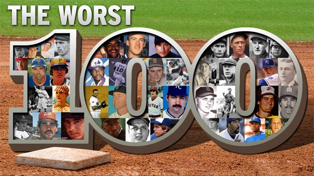 The 100 Worst Baseball Players Of All Time: A Celebration